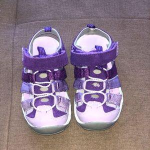 GEORGE girls sandals. Toddler size 9.